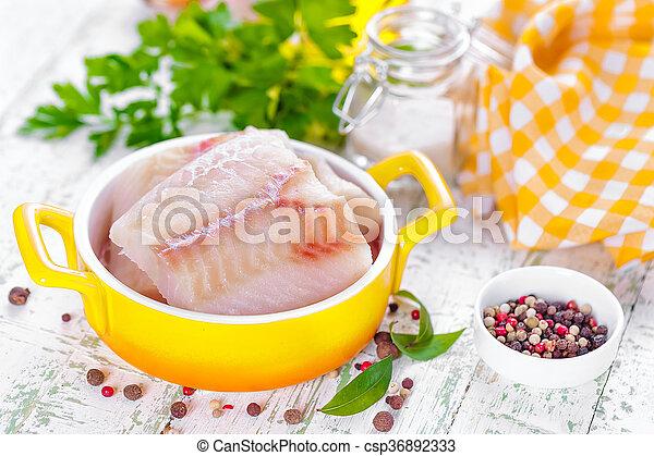 otrzyjcie skórę rybę - csp36892333