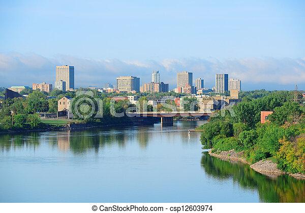 Ottawa cityscape - csp12603974