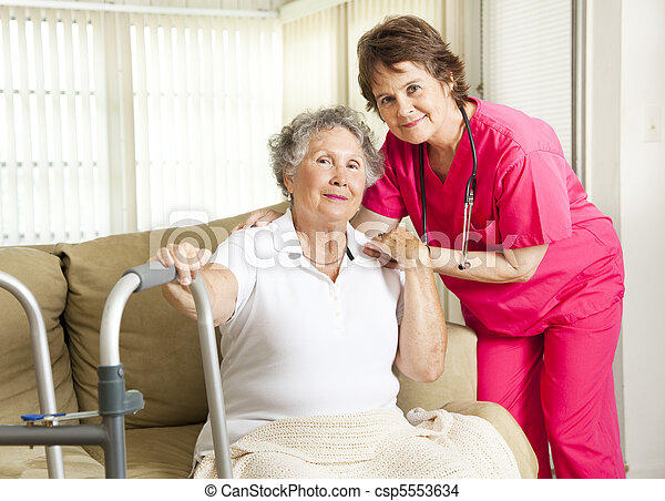 otthon, gondozás, törődik - csp5553634