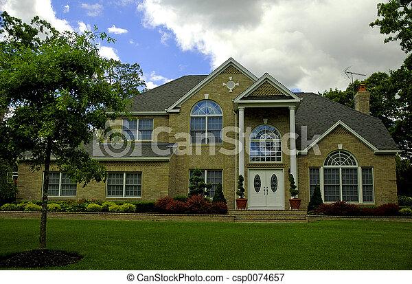 otthon, külvárosi - csp0074657