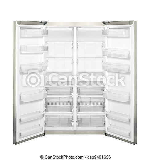 otwarte drzwi, odizolowany, chłodnia - csp9401636