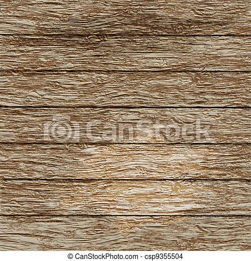 oud, houten textuur - csp9355504
