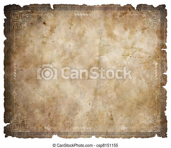 oud, perkament - csp8151155