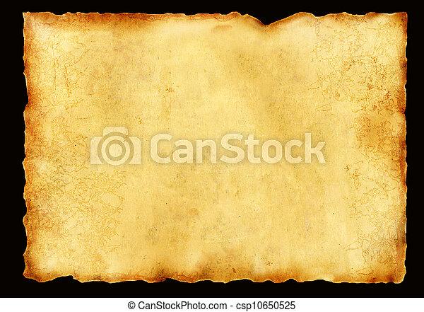 oud, perkament - csp10650525