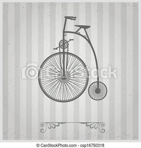 oude fiets - csp16750318