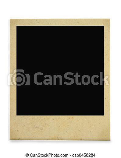 ouderwetse , frame, foto - csp0458284