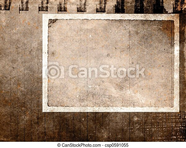 ouderwetse , papier, grunge - csp0591055