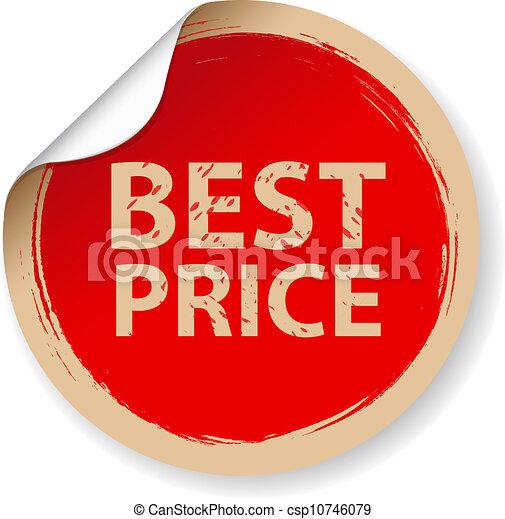 ouderwetse , prijs, best, etiket - csp10746079