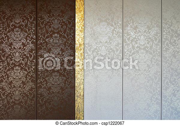 Ouderwetse tegels 3. bruine tegels goud ouderwetse luxueus