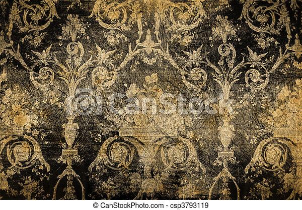 ouderwetse , textuur, achtergrond, grunge - csp3793119