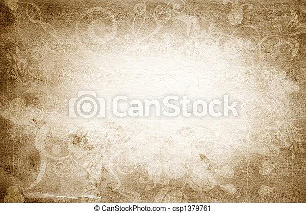 ouderwetse , textuur - csp1379761