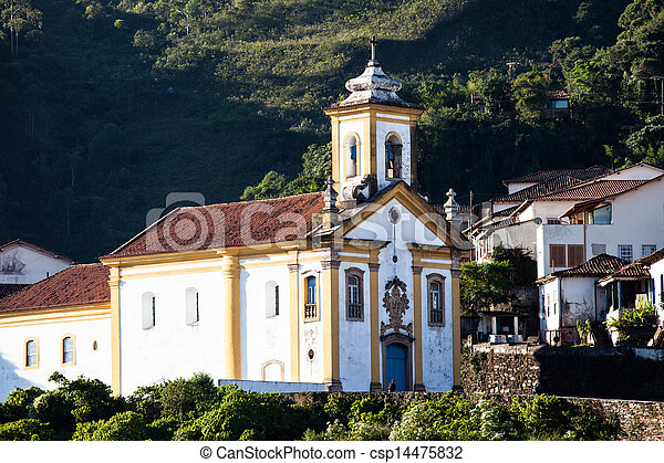 Ouro Preto, Brazil, South America. - csp14475832