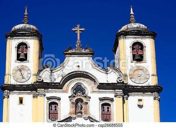 Ouro Preto minas gerais brazil - csp26688555