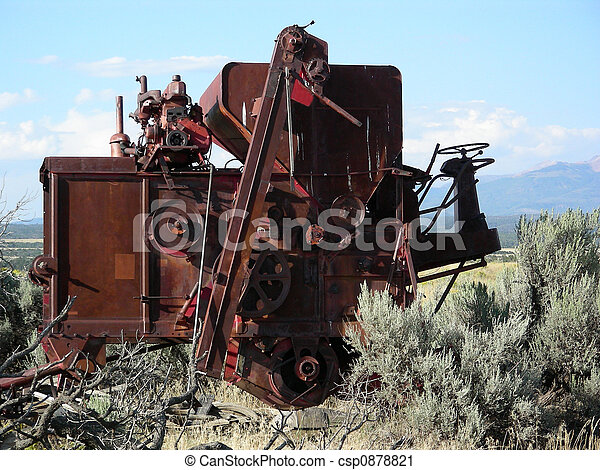 Out to Pasture - csp0878821