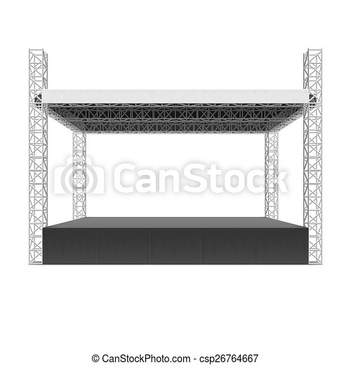 Outdoor Concert Stage Truss System