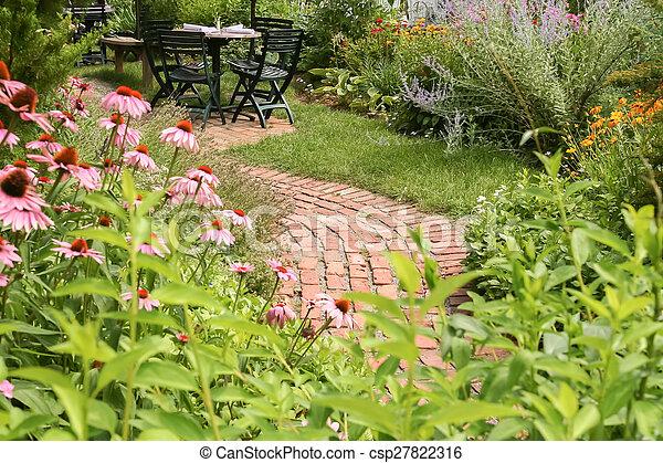 Outdoor Dining - csp27822316