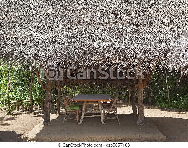 outdoor dining - csp5657108