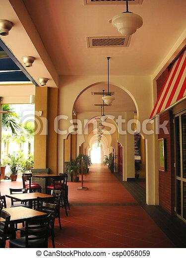 Outdoor dining - csp0058059