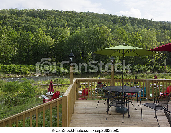 Outdoor Dining - csp28823595