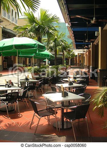 Outdoor dining - csp0058060