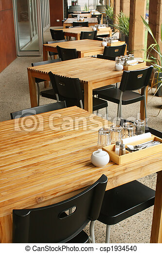 Outdoor Dining - csp1934540