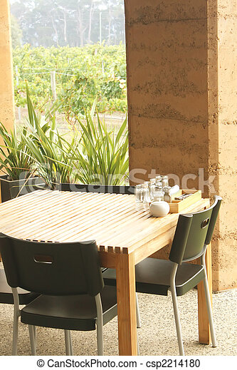 Outdoor Dining - csp2214180