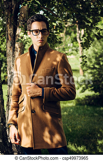 outdoor fashion posing