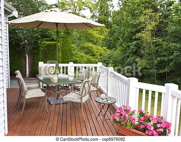 Outdoor Patio - csp6976092