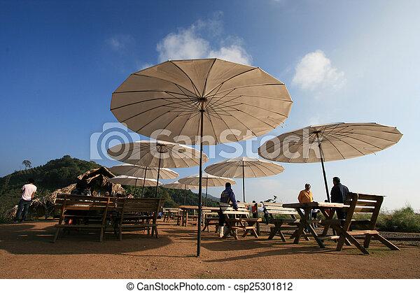 Outdoor restaurant - csp25301812