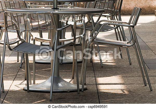 Outdoor restaurant - csp6949591