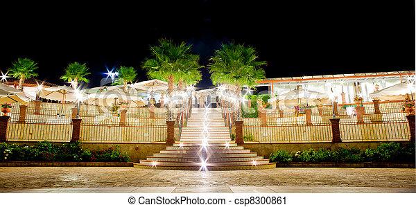 Outdoor restaurant - csp8300861