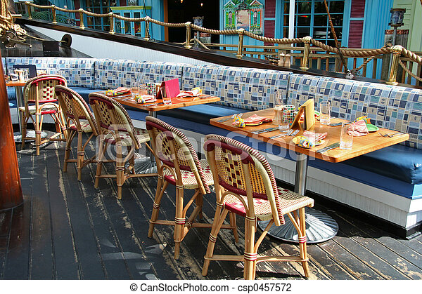 Outdoor Restaurant - csp0457572
