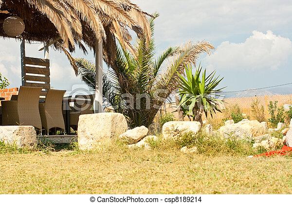 Outdoor restaurant - csp8189214