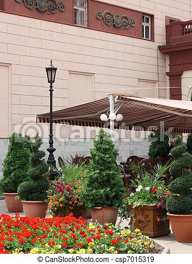 outdoor restaurant - csp7015319