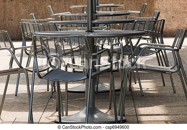 Outdoor restaurant - csp6949600