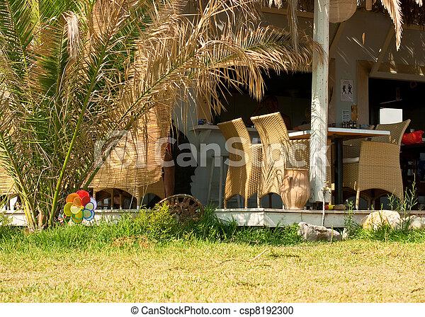 Outdoor restaurant - csp8192300