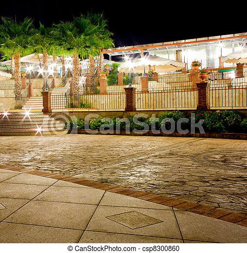 Outdoor restaurant - csp8300860