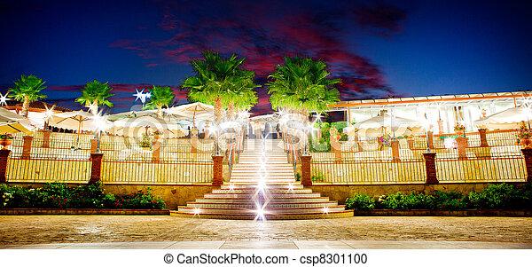 Outdoor restaurant - csp8301100