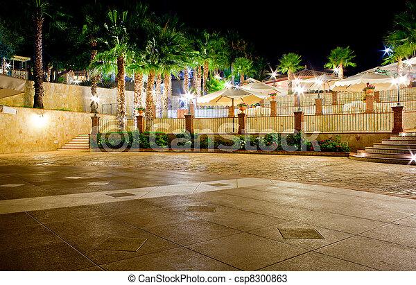 Outdoor restaurant - csp8300863