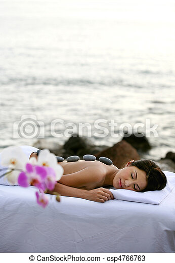Outdoor Spa Therapy - csp4766763