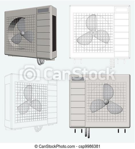 Outdoor Unit of Air Conditioner - csp9986381