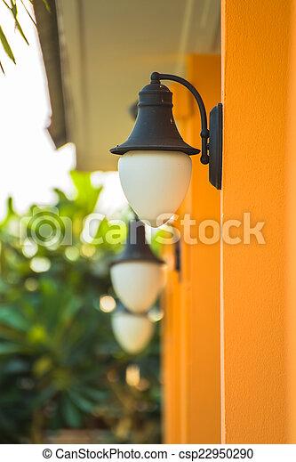 outdoor wall lamp - csp22950290