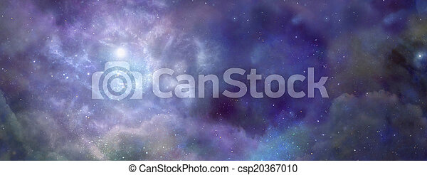 Outer Space banner - csp20367010