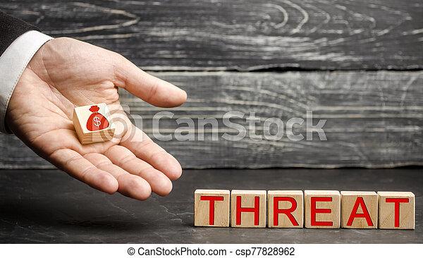 outflow., geld, hauptstadt, finanziell, concept., business., risiken, loss., terrorismus, drohung, investments., schutz, swot, geschaeftswelt, druck, bargeld, analyse, klein, strategie - csp77828962