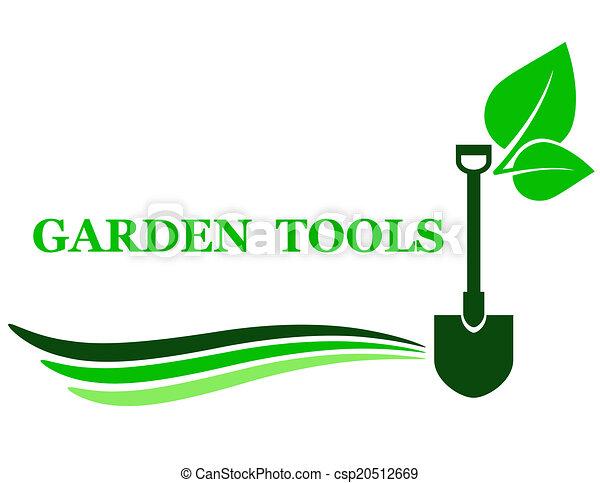outillage, jardin, fond - csp20512669