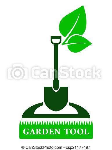 outillage, jardin, signe - csp21177497