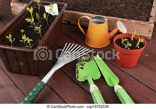 outils, jardinage - csp19752538