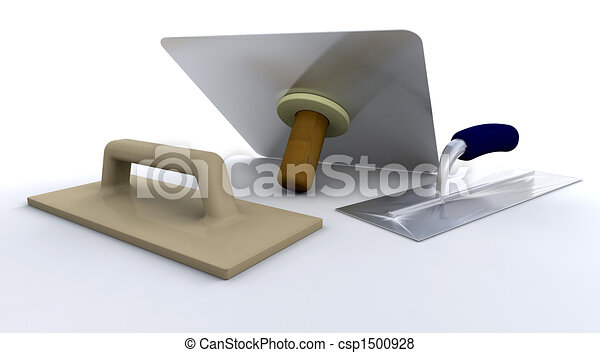 outils, plâtriers - csp1500928