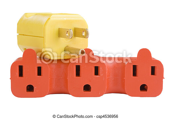 Outlet surge adapter - csp4536956