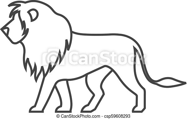 Lion Outline Jpg – A lion is a complex structure and outline to draw and to make this task easier;